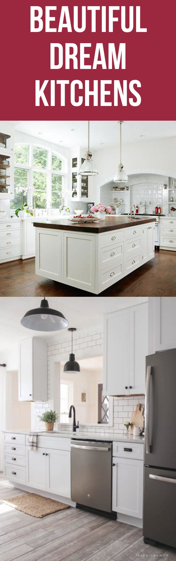 12 White Farmhouse Dream Kitchen Designs And Styles Spark Love